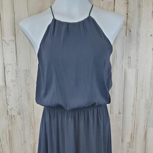 H&M Dresses & Skirts - H&M Women Maxi Dress Blue/Black Thin Strap Blouson